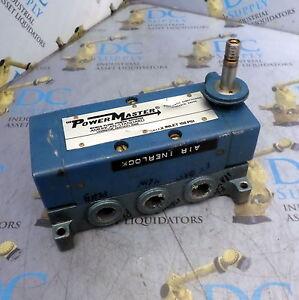 Details about WABCO FLUID POWER DIV PL64104-9100 POWER MASTER PNEUMATIC  DIRECT CONTROL VALVE