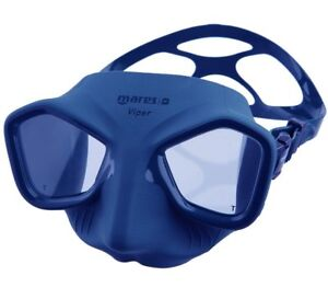 Mares Viper Spearfishing Freediving Scuba Diving Dive Mask - Blue - 421411