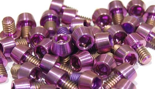 Titan Schraube M6 x 8 konisch DIN 912 Grade 5 purple