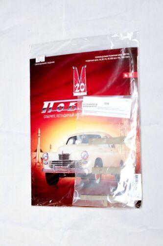 Modelo De Gaz M20 Pobeda 1//8 Deagostini Revistas Para Escolher