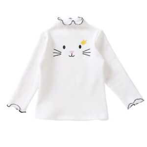 Toddler-Baby-Girl-Cotton-Long-Sleeve-Tops-Kids-Candy-Colour-T-Shirt-Solid-Blouse
