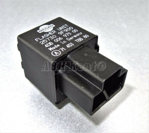92-05 650-Genuine Nissan LDV 3-Pin Black Flasher Relay 257309F900 4DB006979-00