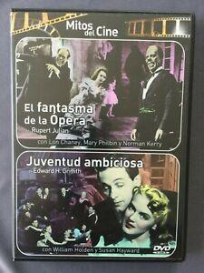 DVD-EL-FANTASMA-DE-LA-OPERA-JUVENTUD-AMBICIOSA-Mitos-del-Cine-Susan-Hayward