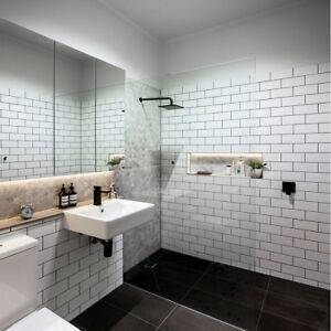 Wtsenates Excellent White Brick Bathroom Tiles In Collection 5660