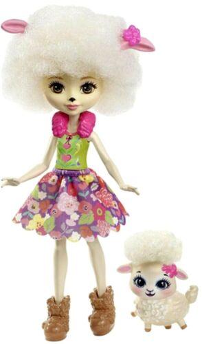 Bambole enchantimals Skunk PAVONE Agnello Bunny Volpe KOALA Girl Doll /& Animali NUOVO CON SCATOLA