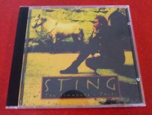 CD-Album-Sting-Ten-Summoner-039-s-Tales-A-amp-M-Canada-Records