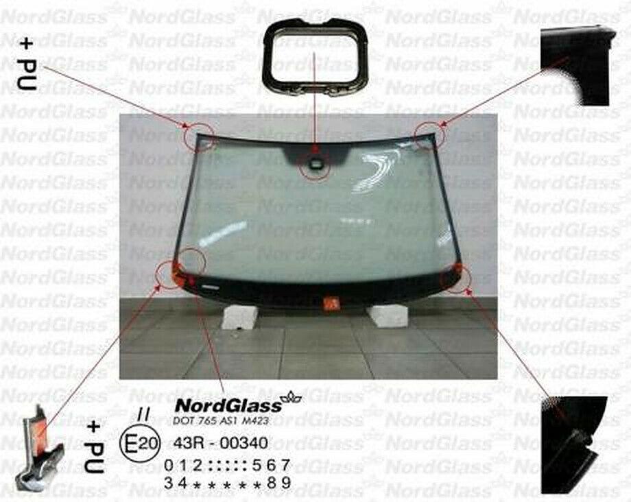 NEU Passat Windschutzscheibe Frontscheibe 3C2 3C5 Autoglas ab 2005