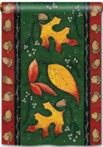 Leaf Toss Garden Flag by Breeze Art #6350 Fall Leaves, Colorfast!