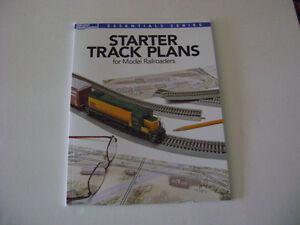 Model Railroaders Starter Track Plans for Model Railroaders Book