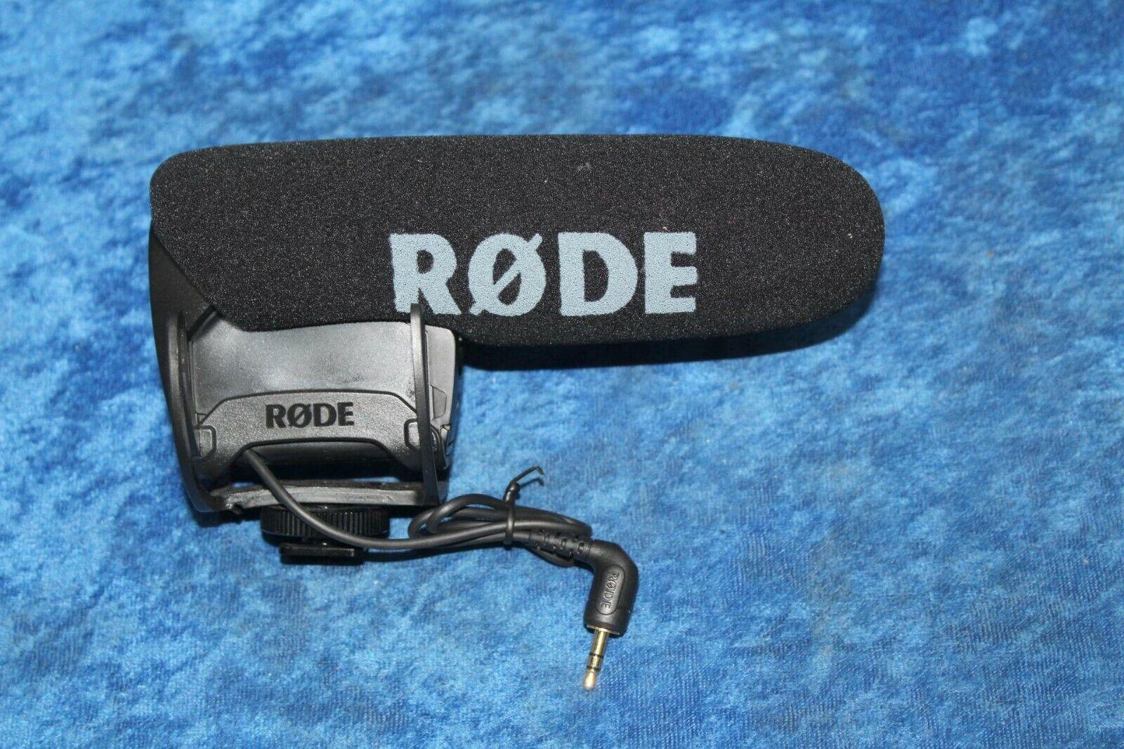 "Rode VideoMic Pro ½"" Condenser Shotgun Microphone w  Rycote Lyre Mount"