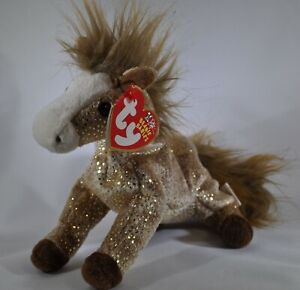 2002 TY Beanie Babies Filly Horse Foal. MINT Condition! 10th Anniversary Tag.