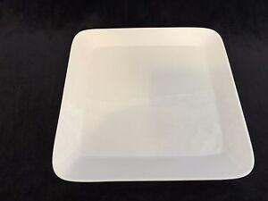 Image is loading Maxwell-&-Williams-White-Basics-Piazza-White-Square- & Maxwell \u0026 Williams White Basics Piazza White Square Dinner Plate 10 ...