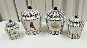 Nautical Canisters For The Kitchen Tyres2c