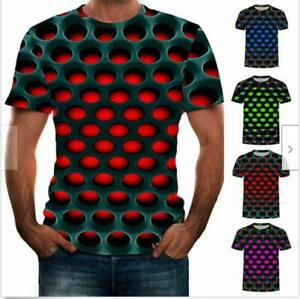 Funny-Hypnosis-3D-T-Shirt-Men-Women-Graphic-Casual-Fashion-Short-Sleeve-Tee-Tops