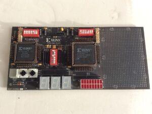 XILINX-FPGA-DEMO-BOARD-XC3020A-XC4008A-0430822