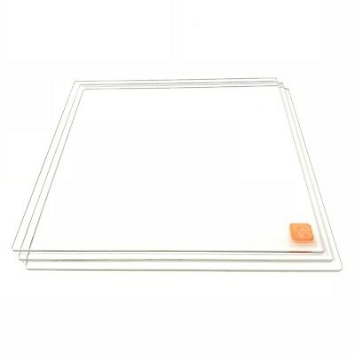 Magideal Borosilicate Heated Heat Bed Glass Plate for 3D Printer Reprap MK2
