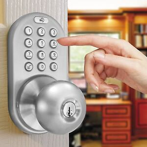 Image Is Loading Electronic Door Lock Home Keyless Entry Knob Home