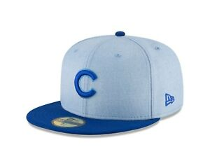 1fedab3a Chicago Cubs New Era Light Blue 2018 Father's Day On Field 59FIFTY ...