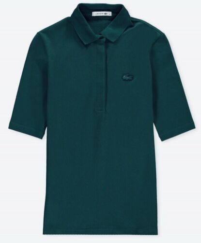 Stretch Slim Lacoste Polo Mini Fit In Aconit Piqué Women's Shirt Og44qxU