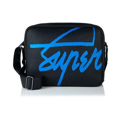 New Superdry Kayem Messenger Bag Black