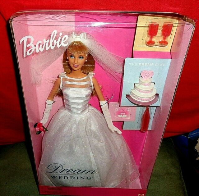 1991 Mattel Dream Bride Barbie Wedding Romance in Satin And Lace w/Accessories