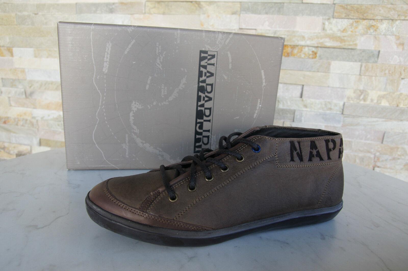 NAPAPIJRI Gr 45 11 Schnürschuhe Sven braun High Top Sneakers Schuhes braun Sven neu UVP 149 658361