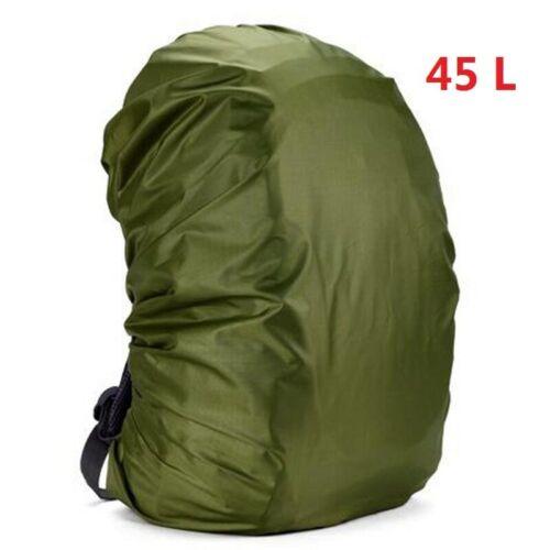 45L Adjustable Waterproof Dustproof Backpack Rain Cover Portable Mounchain 35