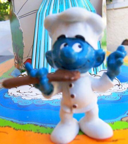 20042 Schtroumpf cuisinier smurf pitufos puffo puffi schlümpfe schtroumpfette