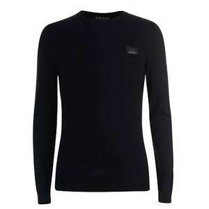 Ne-riche-homme-NACRES-Pull-Pull-Pullover-a-manches-longues-col-rond