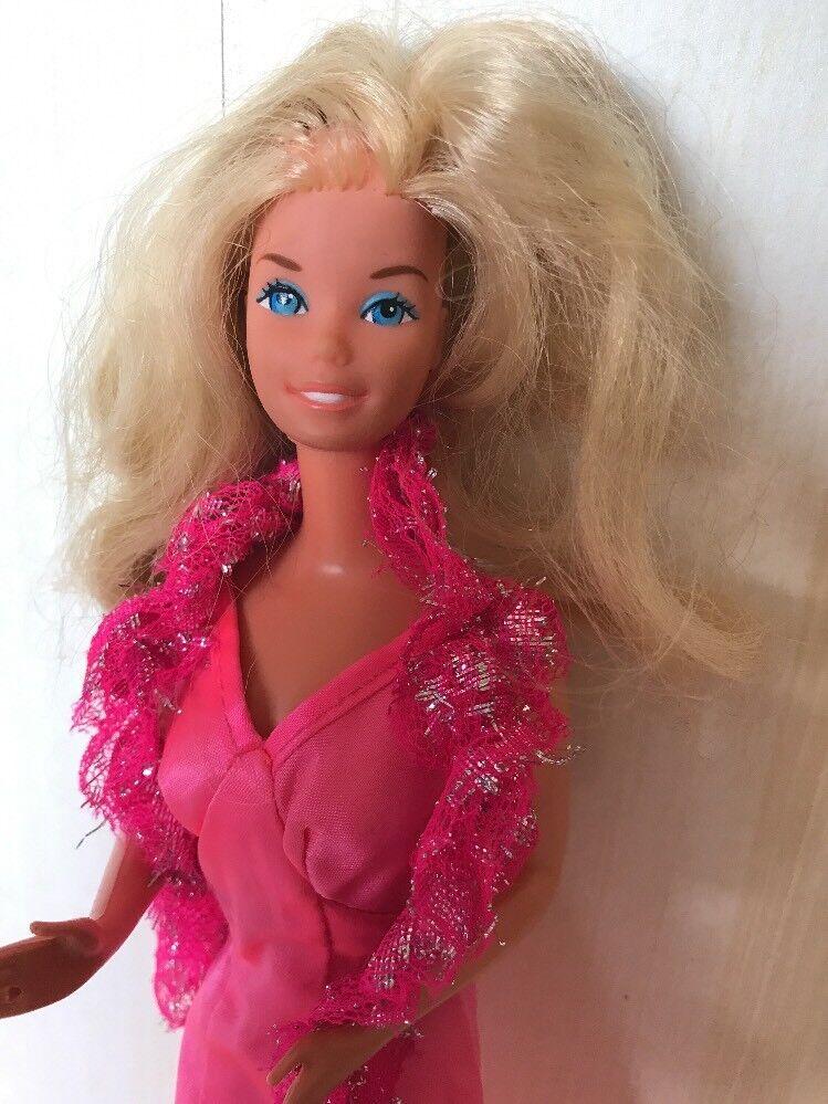 Vintage Barbie Superstar mit Kleidung Kleid Bolero 70 er Jahre