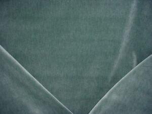 1-3-4Y-Holland-amp-Sherry-DE13351-Duet-Porpoise-Blue-Velvet-Upholstery-Fabric