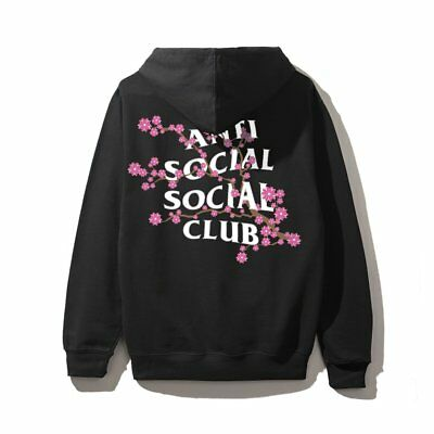 Anti Social Social Club Mind Games Hoodie Black Size S-XL W//Receipt