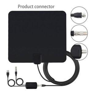 75-Mile-Antenna-TV-Amplificata-Per-Digitale-Terrestre-DVB-T-DVB-T-2-HDTV-DTT-USB