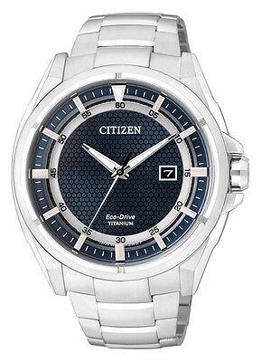 Citizen Eco-Drive Super Titanium Japan Sapphire Mens Watch AW1401-50L