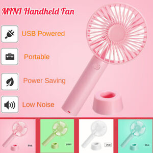 Mini-Fan-Portable-Handheld-Desk-Cool-Cooling-USB-Rechargeable-Travel-3-Speeds