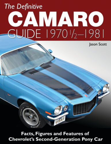 The Definitive Guide for Chevy Camaro 1970 1//2-1981 Second Gen Pony Car Facts+
