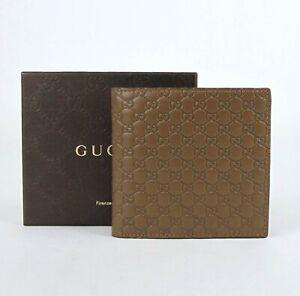 Gucci-Men-039-s-Brown-Microguccissima-Leather-Bi-fold-Wallet-150413-2527