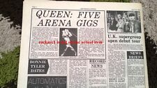 QUEEN '5 arena gigs' 1978 UK ARTICLE / clipping