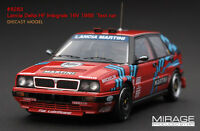1:43 Hpi Diecast 8283 Lancia Delta Hf Integrale 16v 1989 Test Car