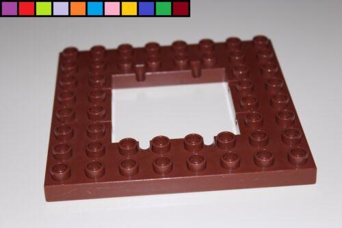 Lego Duplo Falltür für Gitter Boden Gefängnis Ritterburg Verließ braun
