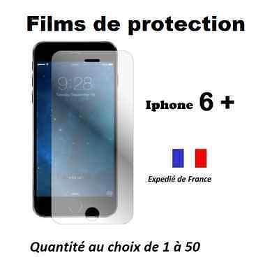 Lots films de protection, protecteur écran Iphone 6 + Plus H QUALITE + lingettes