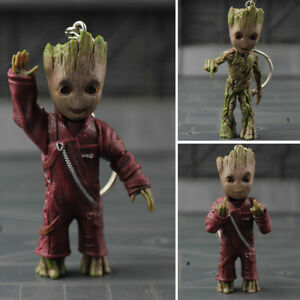 Key-Chain-Baby-Groot-Guardians-of-The-Galaxy-Vol-2-Alloy-Keyring-Figure-Pendant