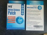 Box Motion Sickness (20) Patches Usa Seller Herbal Car Cruise Ship Fast Free Shi
