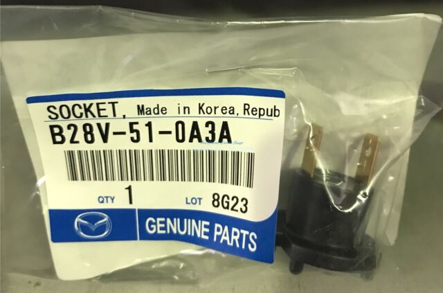 Mazda 3 BK, 323 BJ Genuine H7 Headlight Globe Bulb Holder Socket B28V-51-0A3A