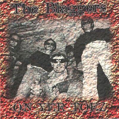 THE BLAGGERS - ON YER TOEZ CD Halloween Sale Punk / oi!