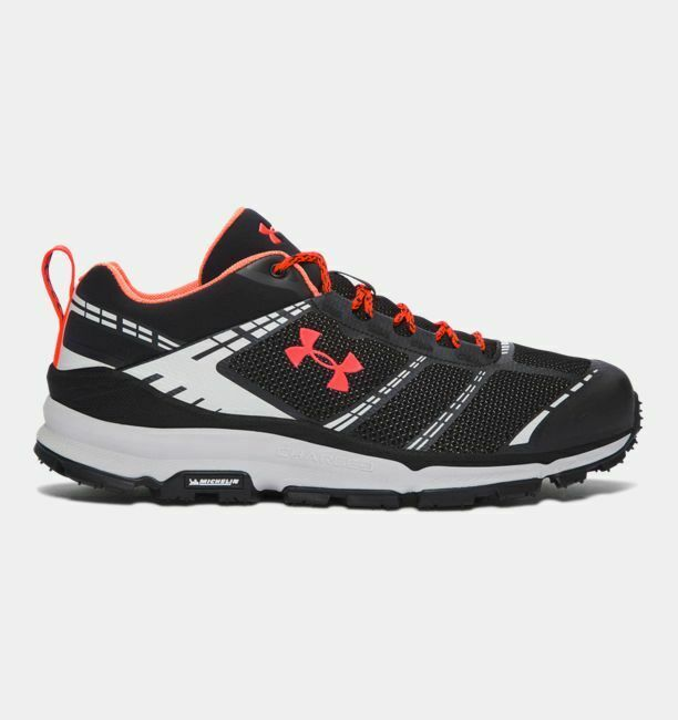 Under Armour UA Verge Verge Verge Low Uomo Hiking stivali nero Elemental 1297221-001 SZ 10.5W 90ec70