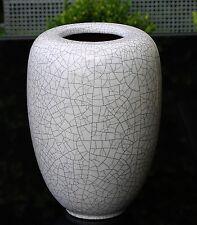 Karlsruher Majolika Vase Craquele Optik !!! Künstlerin Friedegard Glatzle !!!