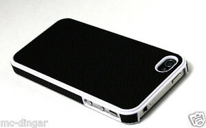 Hybrid-Rugged-Rubber-Matte-Hard-Case-CoverFor-iPhone-4s-4-Screen-Protective