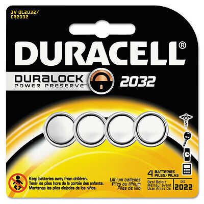 """Duracell Lithium Medical Battery, 3v, 2032, 4/pk"""