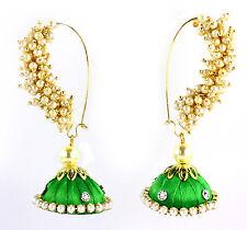 Beautiful Stylish Designer Fashion Pearl Jhumka Jhumki Earrings For Women Girls